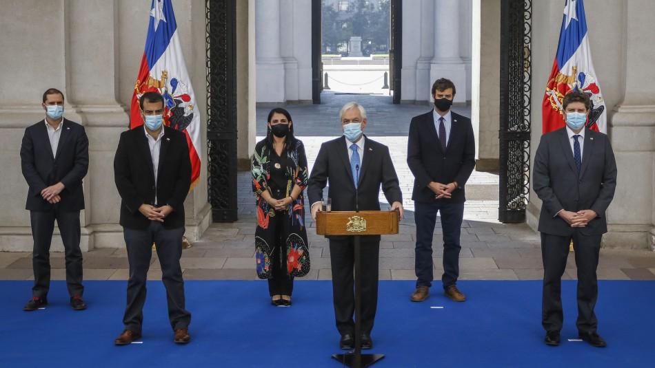 Tercer retiro: Ministros del Comité Político afirman estar a favor del requerimiento ante el TC