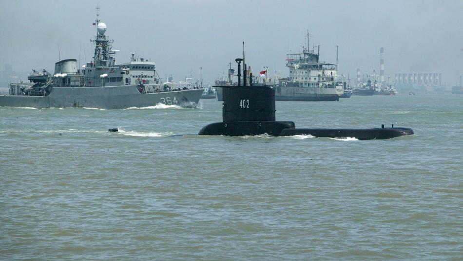 Desaparece submarino de Indonesia con 53 personas a bordo