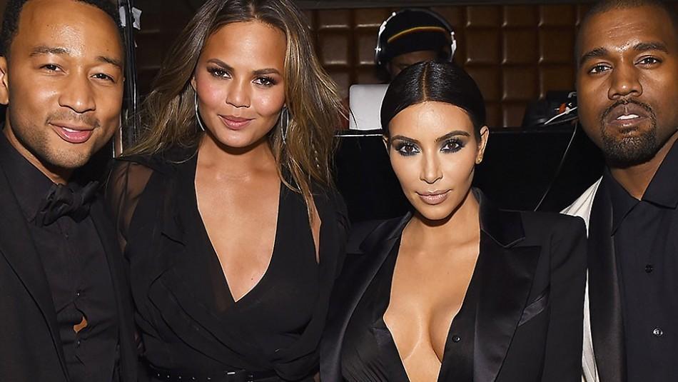 Kim Kardashian no quería divorciarse de Kanye West: la confesión de Chrissy Teigen