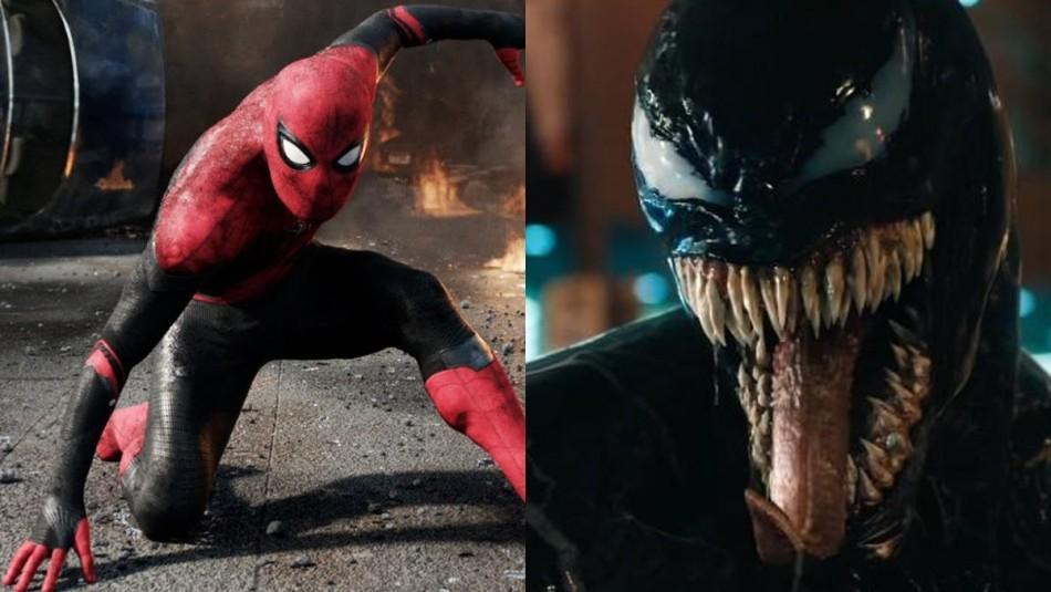 Spiderman y Venom