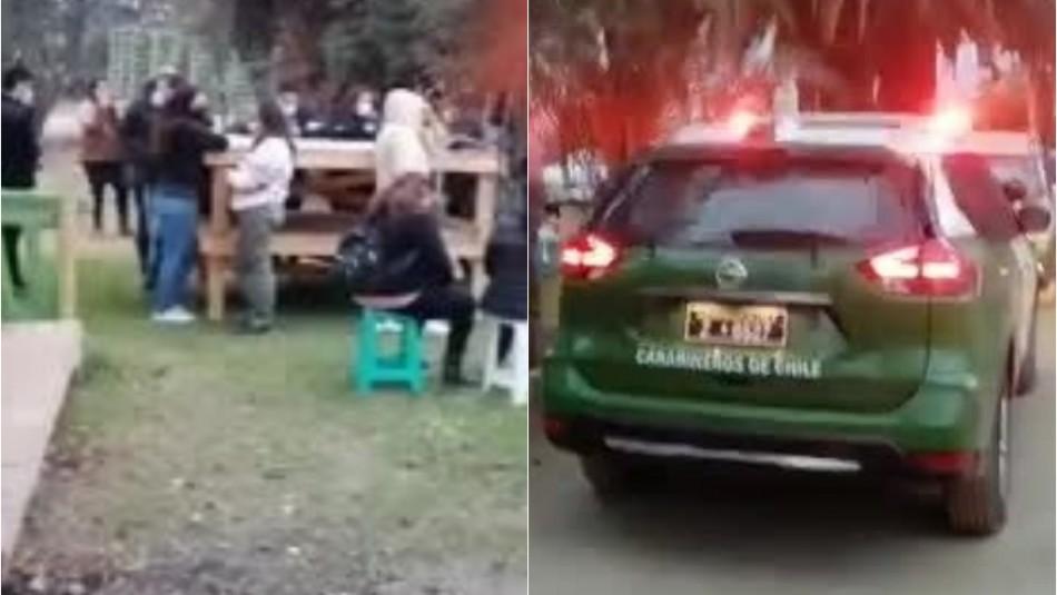 Detienen a 32 personas que participaban de fiesta clandestina en Calera de Tango