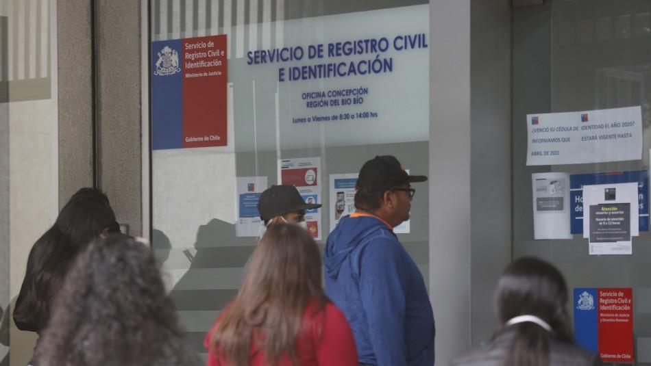 Registro Civil atiende el fin de semana para pedir Clave Única: Revisa las oficinas disponibles
