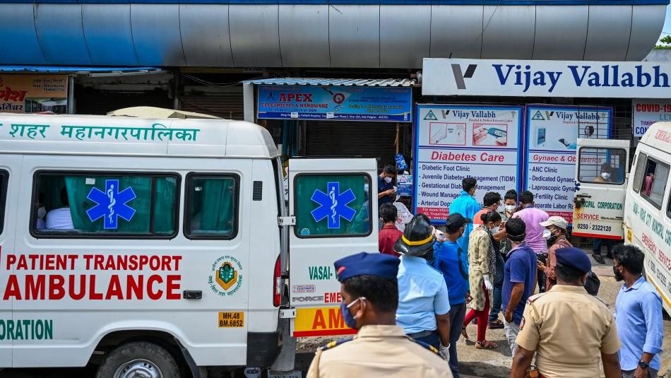 Explosión de casos coronavirus en India: hospitales desbordados y faltos de oxígeno