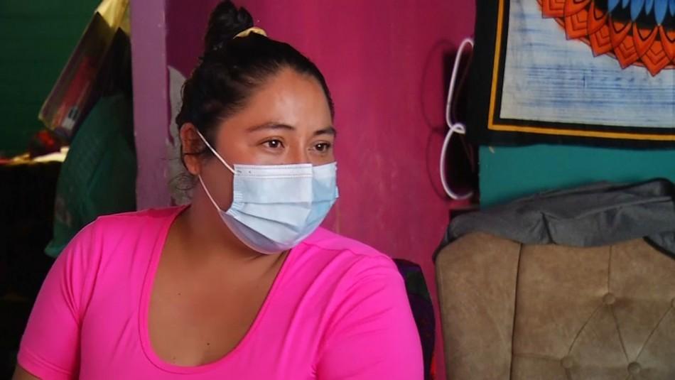 Madre de 5 hijos por falta de ayudas del Estado: