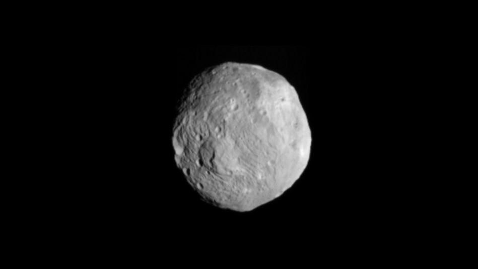 Asteroide caído en el sur de África en 2018 vino de Vesta
