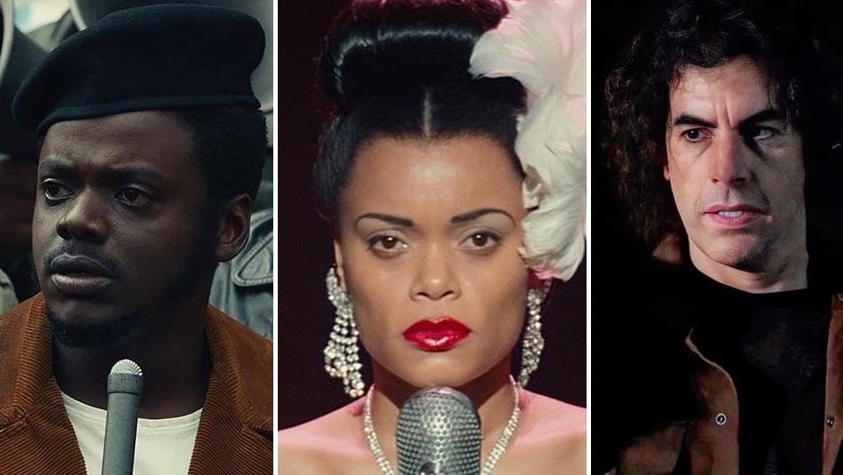 Así lucen los personajes reales interpretados por los actores nominados a los premios Oscar 2021