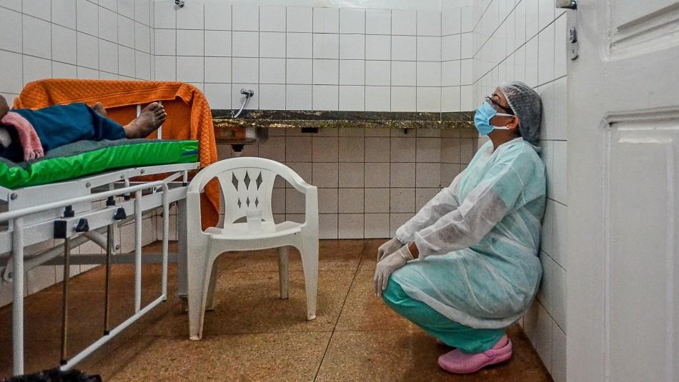 Sigue la tragedia en Brasil: Alcanza nuevo récord mensual de muertos por coronavirus en abril