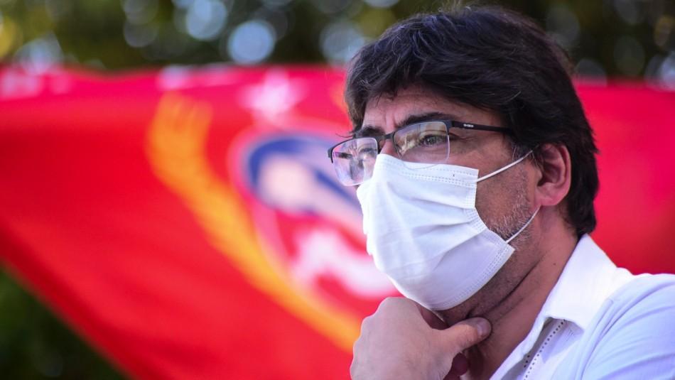 Partido Comunista formaliza la candidatura presidencial de Daniel Jadue