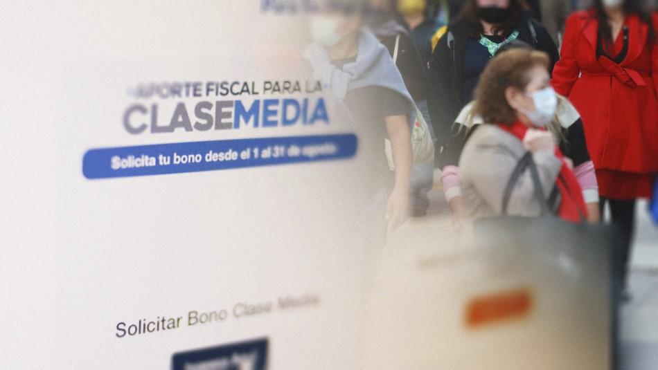 Bono Clase Media: Gobierno