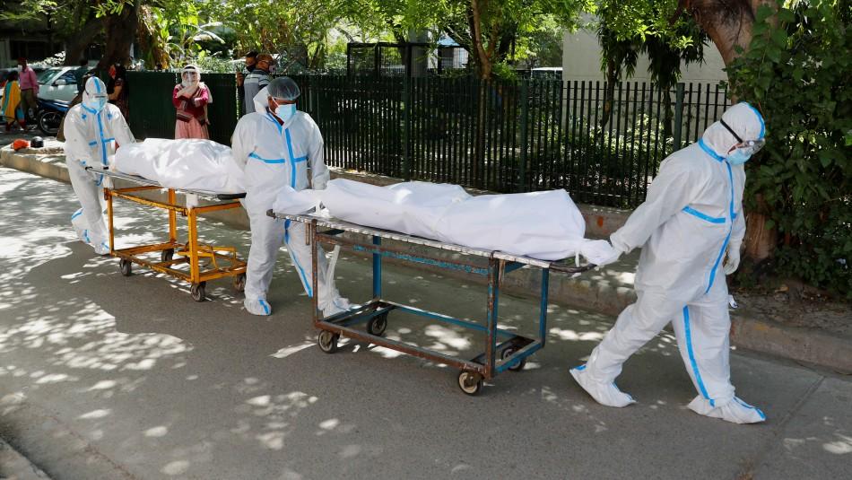 Sin oxígeno ni camas de hospital: India bate récord de muertos en últimas 24 horas por Covid