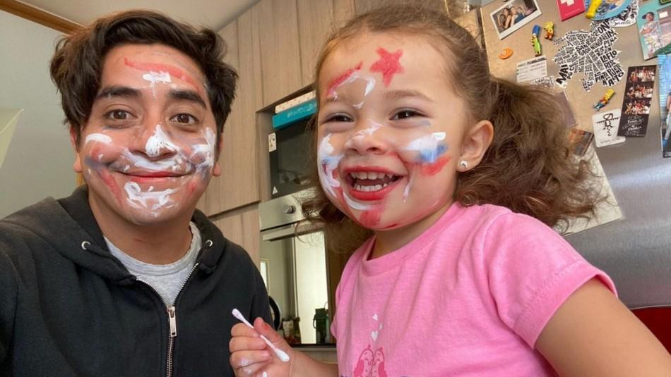 Fernando Godoy celebra los tres años de su hija Lua: