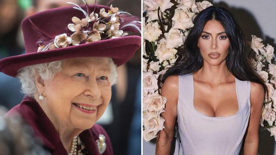 La marca corporativa de la reina Isabel II es seis veces más grande que la de Kim Kardashian