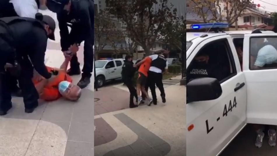 Armada explicó detención de hombre viralizada en redes sociales: