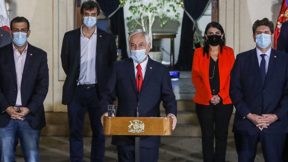 Tercer retiro: Presidente Piñera anuncia su propio proyecto con