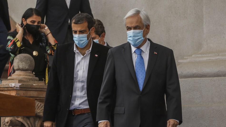 Habría anuncio de tercer retiro y paquete social: Presidente Piñera tiene reuniones en La Moneda