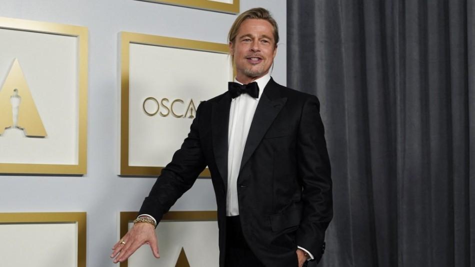El esperado regreso de Brad Pitt en los Oscar: Se llevó hasta un piropo