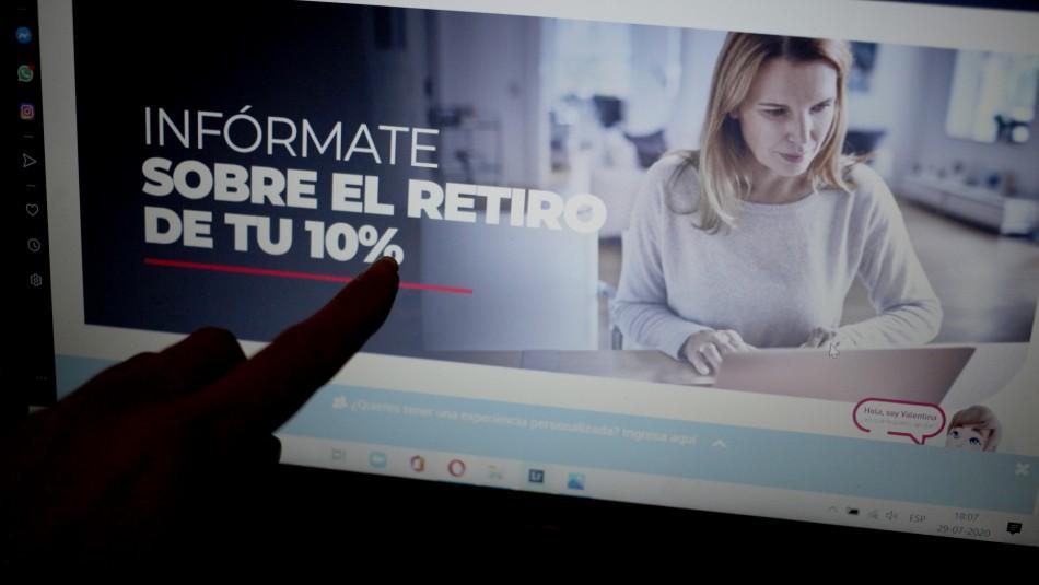 Retiro de fondos de AFP: Revisa el proyecto de Pamela Jiles para permitir una nueva extracción