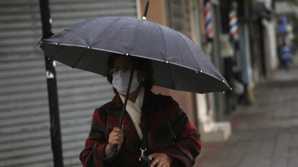 Pronóstico de lluvia para Santiago: Revisa cuánto podría precipitar este fin de semana