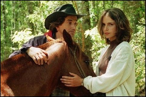 Carolina Fadic con Francisco Reyes en