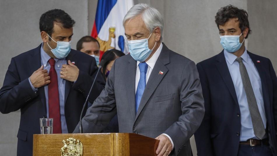 Tercer retiro: Piñera promulgará proyecto este mismo martes tras rechazo en el TC