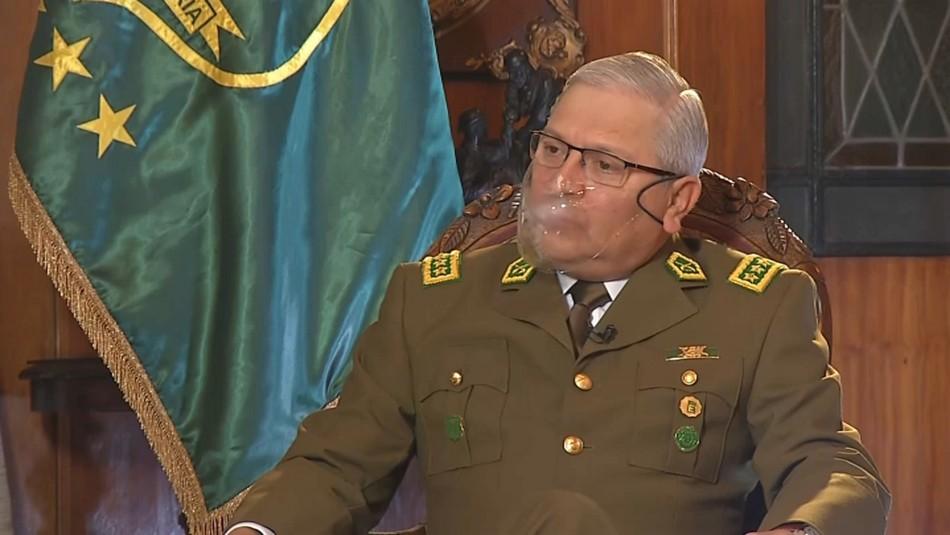 General director de Carabineros: Somos víctimas, en los últimos años tenemos más de 400 heridos