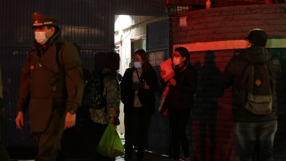 Hogar del Sename de Rancagua es desalojado por manifestaciones de vecinos