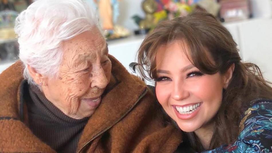 Abuela de Thalía recibe la