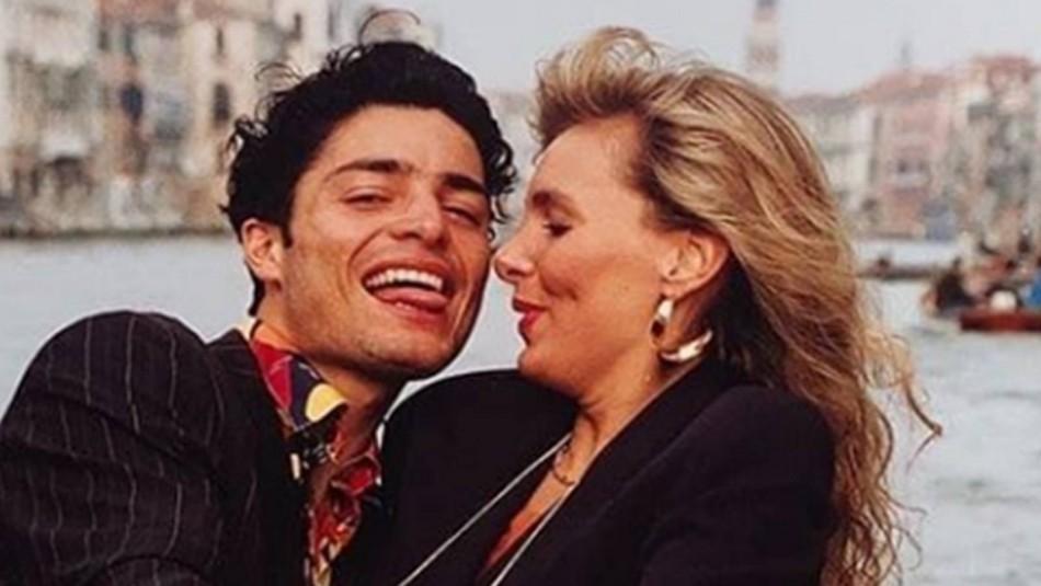 Chayanne y su esposa cuando jóvenes