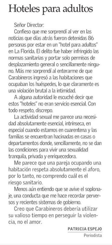 Carta Patricia Espejo