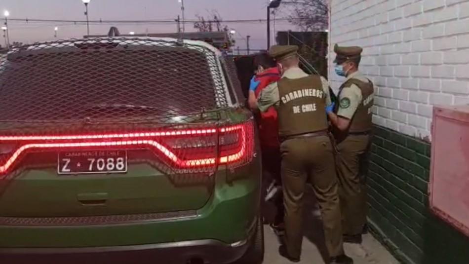 Femicidio frustrado en San Bernardo.