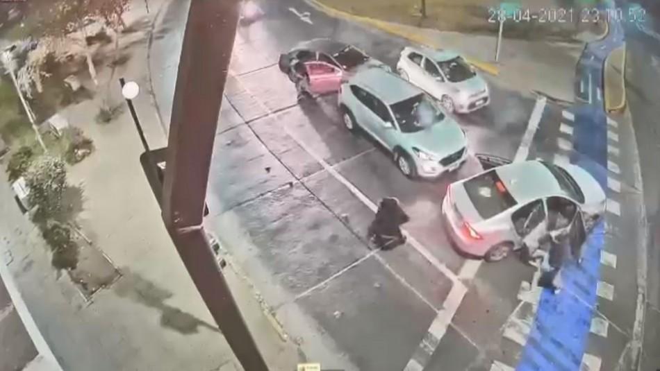Video muestra cómo la escolta de Martorell frustra a balazos una encerrona