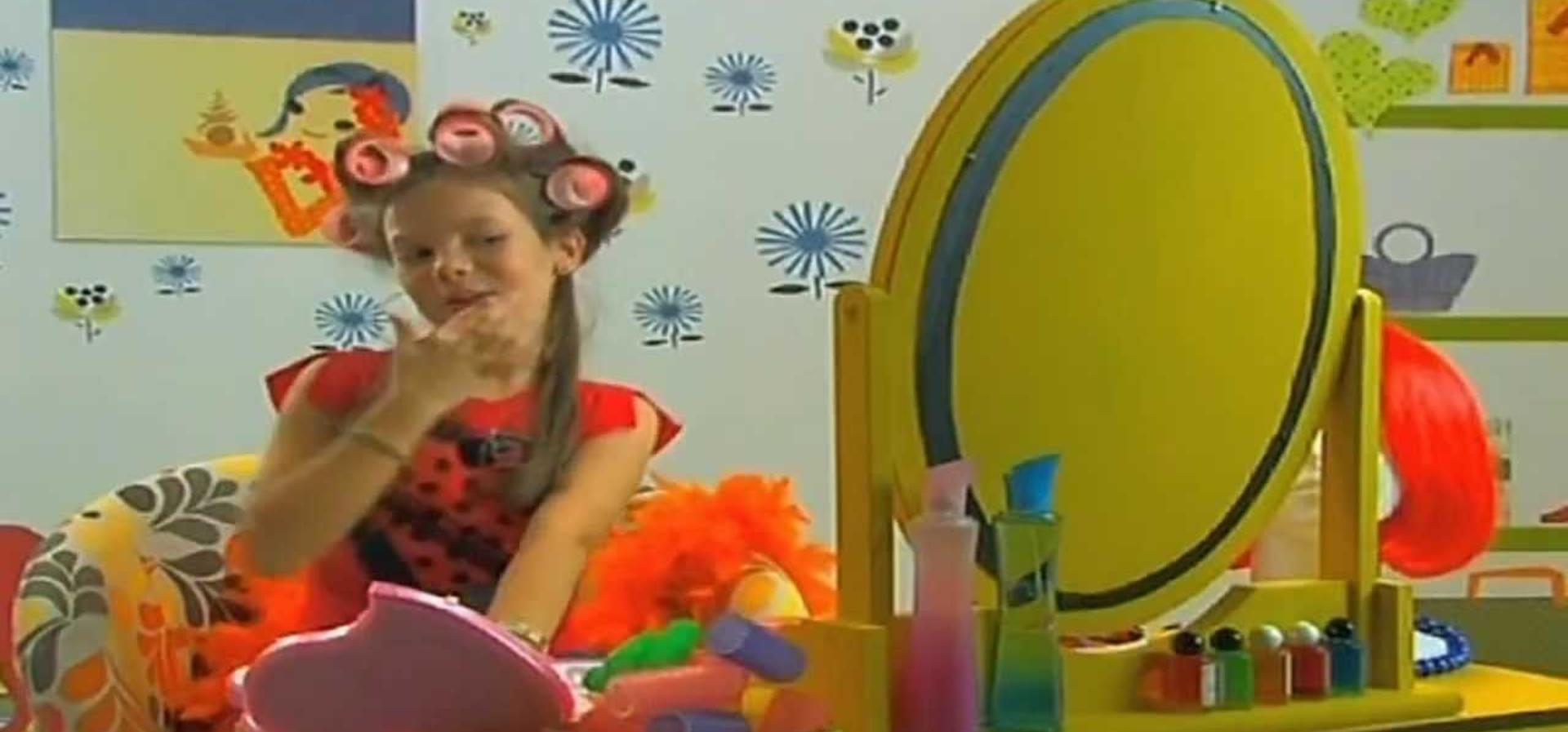 María Isabel en el video de