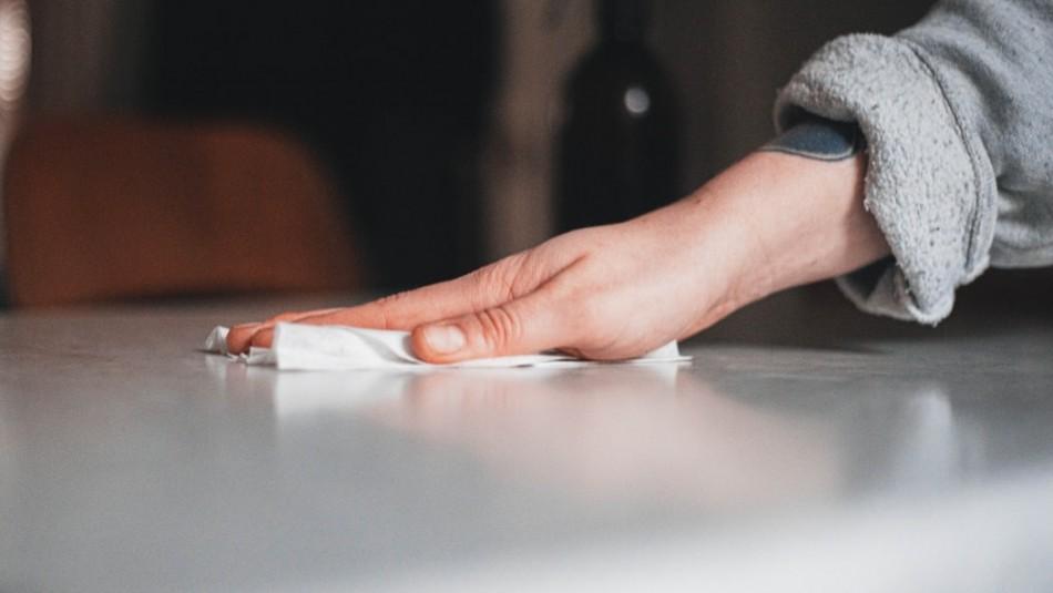 Covid 19: Experto asegura que desinfectar superficies