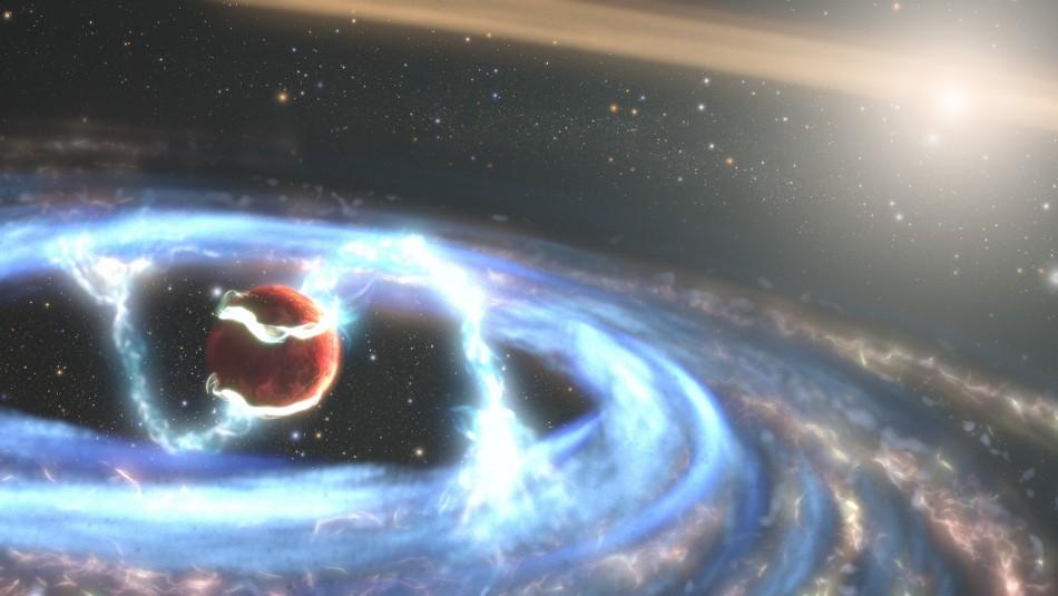 NASA publicó inéditas imágenes sobre la formación de planetas