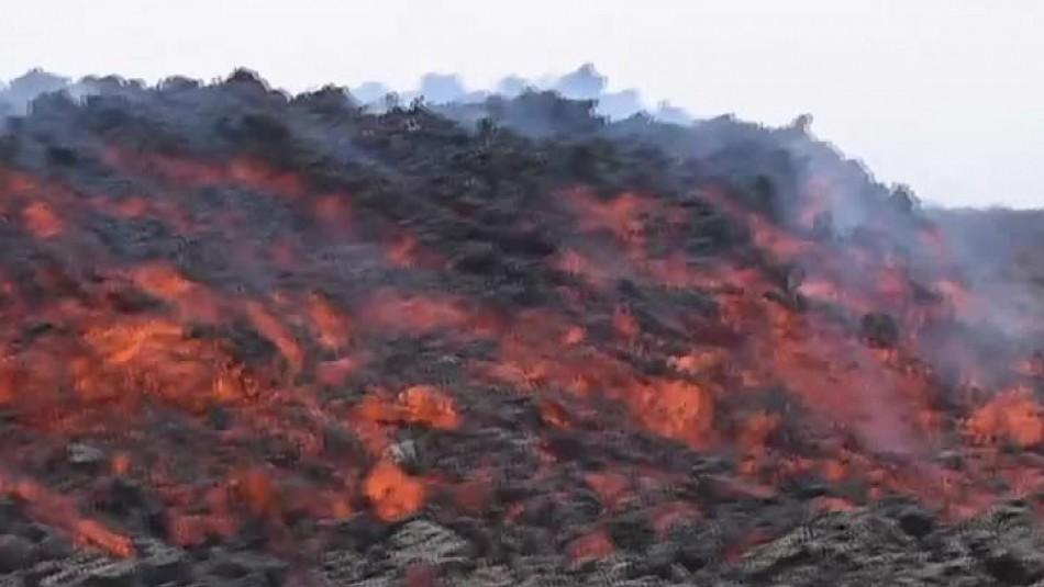 Volcán Pacaya se reactiva y genera nuevo flujo de lava en Guatemala