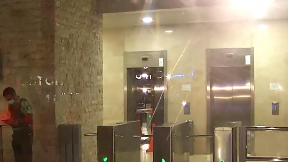 Trabajador muere tras ser aplastado por ascensor en Las Condes