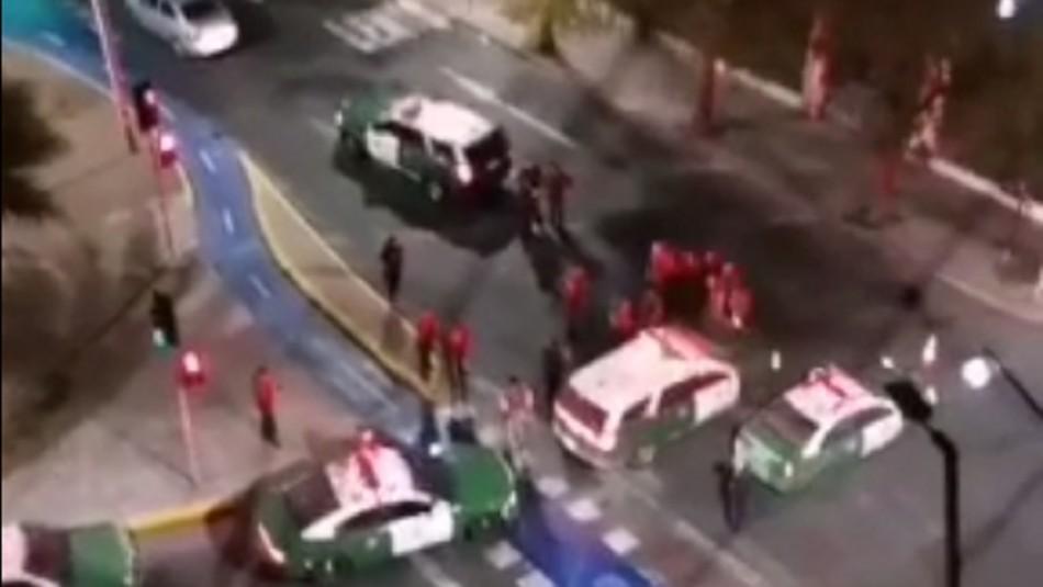 Escolta de subsecretaria Katherine Martorell logra frustrar encerrona en Santiago Centro