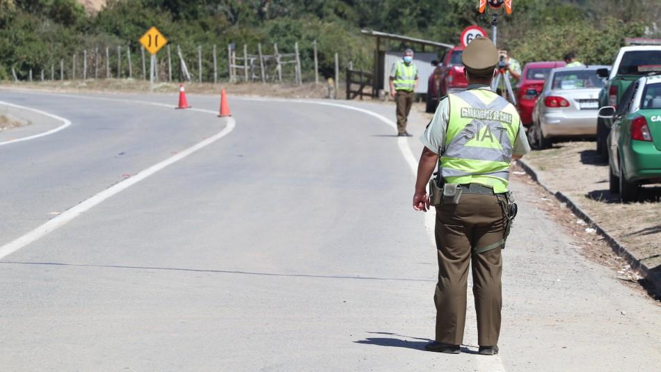 Joven carabinero muere tras chocar su moto contra camión distribuidor de gas