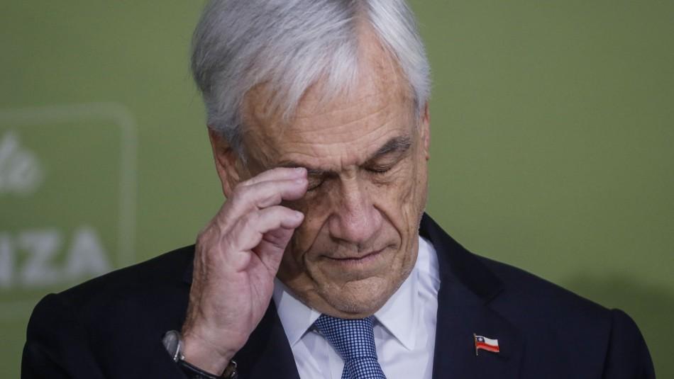 Encuesta CEP: aprobación del Presidente Piñera llega al 9%