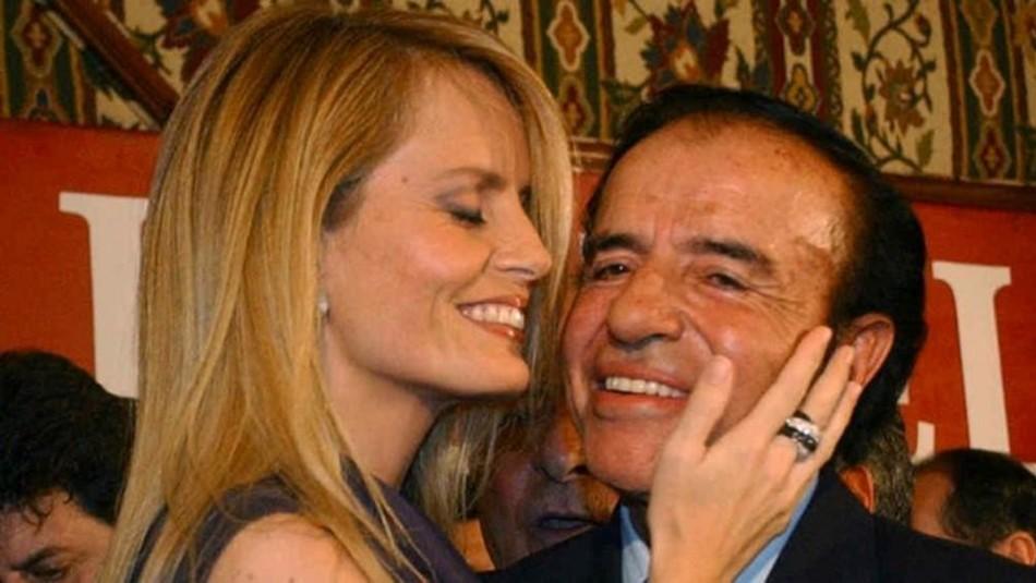 Cecilia Bolocco entrega detalles sobre su fallido matrimonio con Menem: