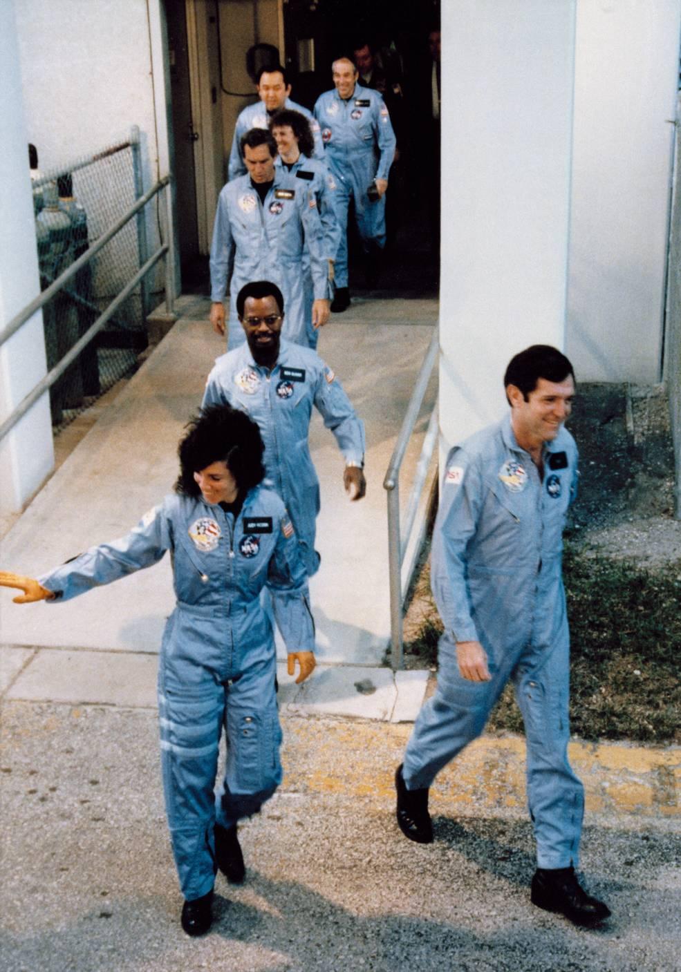 Fa parte del team Challenger crew