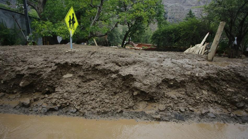 Sistema frontal en zona centro sur: Alertan por posibles aluviones este fin de semana