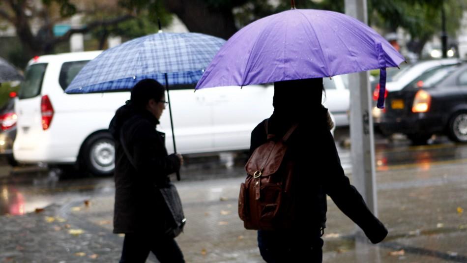 Este sábado comenzarán las lluvias en la zona central: Revisa cuándo lloverá en Santiago