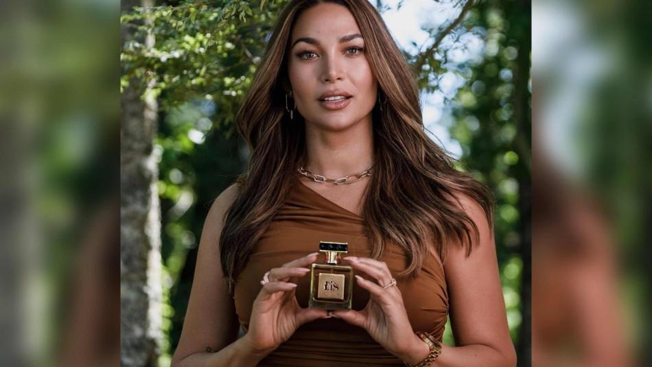 Lisandra Silva y su perfume