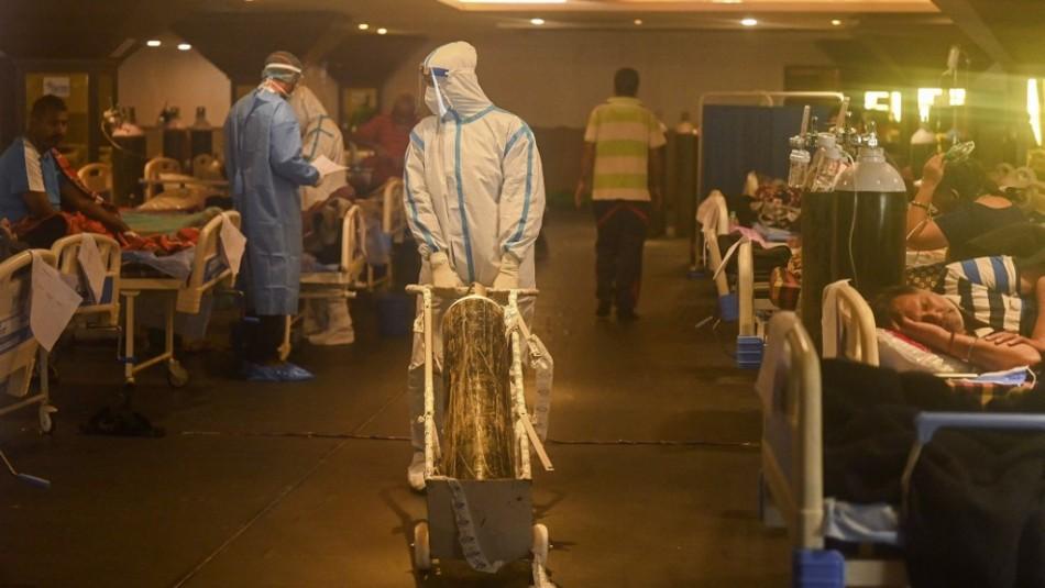 Triste récord: India registra más de 400.000 contagios de coronavirus en 24 horas