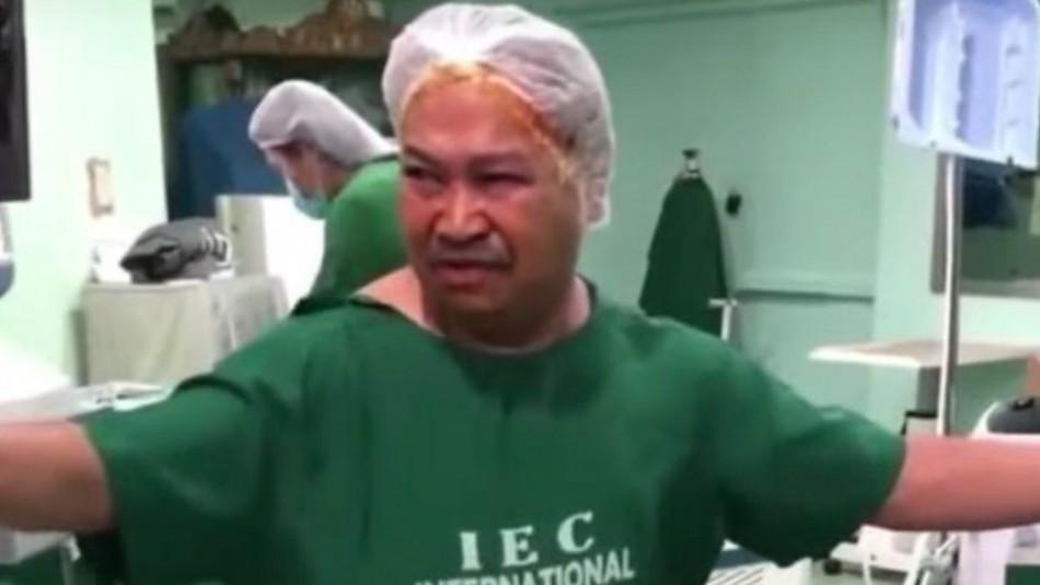 Hombre recuperó la vista tras 19 años: Sus vecinos pagaron operación de cataratas