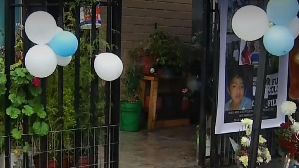 Cuerpo del niño asesinado en Longaví ya está siendo velado en su casa: Recibió homenajes
