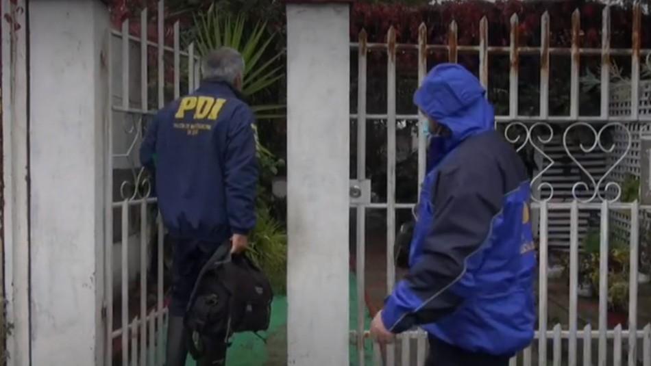 PDI investiga posible homicidio de adulta mayor de 73 años en el centro de Talca