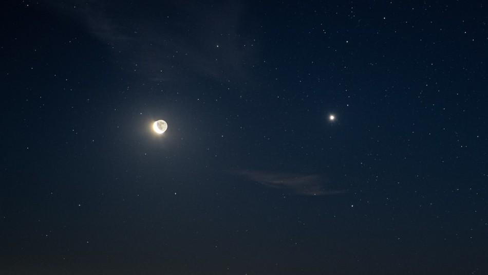Conjunción de la Luna y Júpiter: A qué hora podrás disfrutar del fenómeno