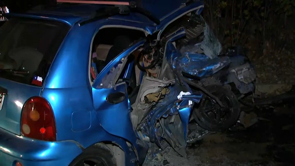Una persona fallecida y cinco menores heridos deja accidente en La Pintana